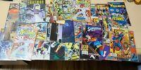 Mixed Lot of 43 DC Comics BATMAN, NEW TEEN TITANS, SUPERMAN, VIGLANTE ETC.
