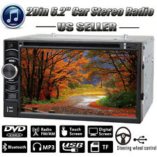 "For Jeep Touch Screen 6.2"" 2 Din Car DVD Radio Stereo Bluetooth USB MP3 Player"