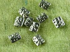 40pcs Tibetan Silver Nice Square Spacers 9x7.5mm 9509