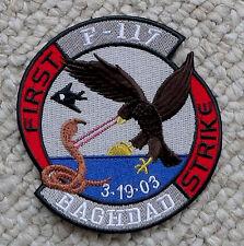 F117 Stealth Baghdad 3-19-03 AF Iraq Repro