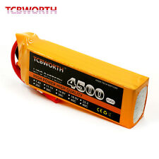 4S RC LiPo battery 14.8V 4500mAh 40C RC Helicopter Car Drone xt60 t jst ec5 ect