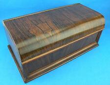 Excelente Calidad Antiguo 19thc Rosewood Estacionario & escrito Caja (C. 1860 Inglés)