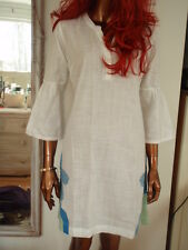 Fab new X Fat Face cotton tunic top dress beach summer holiday cover up RRP £45