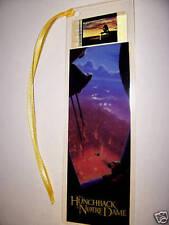 HUNCHBACK Disney Movie Memorabilia Film Cell Bookmark