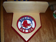 Red Sox  home plate display shelf  for bobble heads