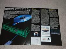 Onkyo Integra Dx-530, 330,230, C600 CD Adaptador, 4 Pgs ,