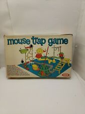 Vintage Mouse Trap Board Game 1963 Ideal w/ Instructions & Box