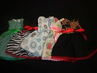 doll dress for 18 inch american girl lot of 5 assorted handmade 84
