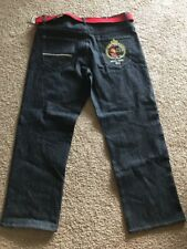 Mecca Rugby 2012 Classic Fit Men's Blue Denim Jeans 44/33 NEW $54 - #A2