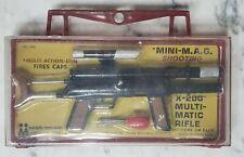 Vintage 1966 MPC Multiple Toymakers X-200 Multi-Matic Secret Spy Cap Gun