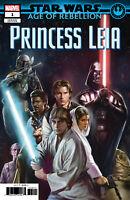 STAR WARS AOR PRINCESS LEIA #1 CAMUNCOLI - MARVEL COMICS - US-COMIC - USA - I444