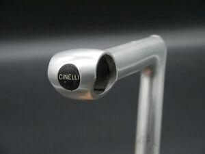 """CINELLI 1R Record Schaftvorbau Gewinde 1"""" quill stem 120 mm 26,4 mm Klemmung"""