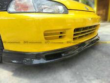 For Honda Civic 92-95 EG Front Bumper Under Lip Splitter Kit Spn Carbon Fiber