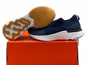 Nike React Phantom Run Flyknit 2 College Navy Mens Size 10.5 CJ0277-401 No Lid