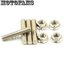 Exhaust Studs Nut for Harley Big Twin 84-15 Sportster XL TC88 Dyna FXD 86-2015