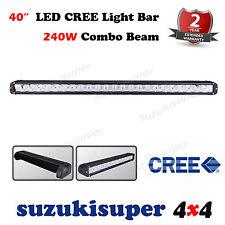 1 x CREE LED Light Bar 40 Inch 240W Combo Spot Flood Beam Work Lamp Offroad 4WD
