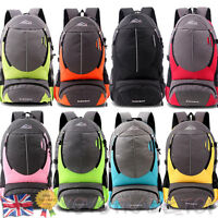 Large Travel Backpack Hiking/Camping Rucksack Luggage Bag Women Men Shoulder Bag
