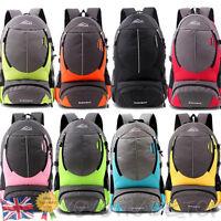 Large Travel Backpack Hiking/Camping Rucksack Luggage Bag Women Men Shoulder Bag