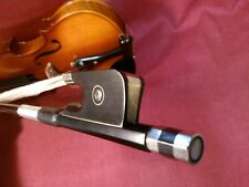 BackToSchool offer! CELLO Bow - Affordable Carbonfibre Beautiful E Frog size 3/4