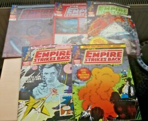 Small collection Vintage COMICS - STAR WARS - EMPIRE STRIKES BACK - 1980 / 81