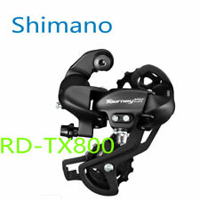 Shimano Tourney RD-TX800 7/8-Speed Long Cage Rear Derailleur Black