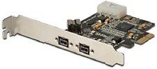 DIGITUS DS-30203-2 FireWire 800 (1394b) PCle Card PCI Express Karte (AA)