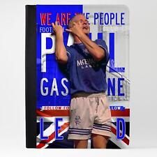 Klađenje Glasgow Rangers Case Ipad Cuero Funda Tablet LG60 leyenda del fútbol
