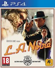 L.A. Noire PS4 PAL ESPAÑA NUEVO PRECINTADO CASTELLANO ESPAÑOL LA