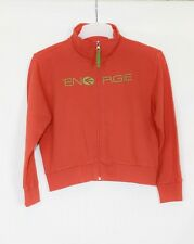Energie Boys / Girls / Unisex Orange Zip Up Short Boxy Cardigan Jacket 12 years
