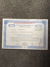 Long Distance Direct Holdings Dated 1998 11970 Shares Invalid  SHARE CERTIFICATE