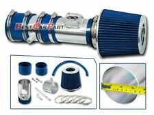 BCP BLUE 12-17 Traverse Enclave Acadia 3.6 V6 Air Intake System +Racing Filter