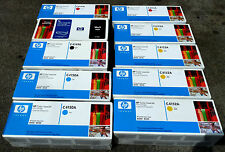 HP C4149A x2 - C4150A x2 - C4151A x2 - C4152A x4 LJ 8500 GENUINE SEALED x 10 Off