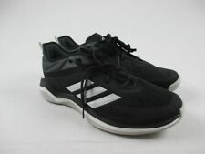 NEW adidas Speed Trainer 4 - Black/White Cleats (Men's Multiple Sizes)