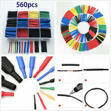 560pc Insulation Heat Shrink Tubing 2:1 Electrical Wire Cable Wrap Assortment-US