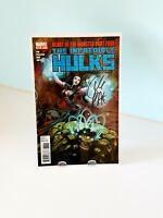 The Incredible Hulks #633 Signed by Greg Pak Marvel Comics 2011