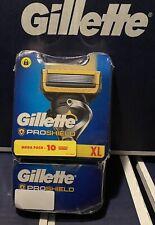 Gillette PROSHIELD Mega Pack De 10 Lames de rechange