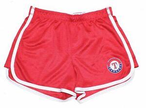 Texas Rangers MLB Baseball Women's size XS-S 0-2 Shorts Tag says Size 14 (Girls)