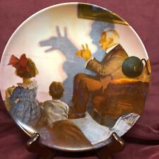 """Plate #12883C~ """"The Shaow Artist"""" Eleventh in The Rockwell Heritage Collection"""