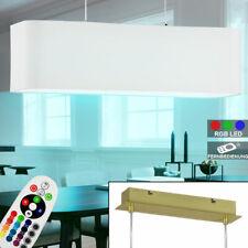 Luxus LED Hänge Decken Leuchte Wohn Ess Zimmer Cappuccino GOLD Pendel Lampe