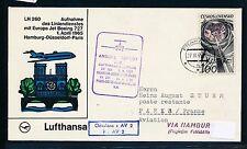 80728) LH FF Hamburg-parís 1.4.65, sou a partir de Praha kucera, R! espacio Space