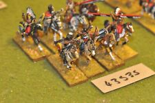 25mm ACW / indians - warriors 8 figures - cav (43535)