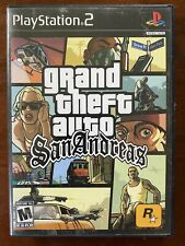 PS2 Grand Theft Auto: San Andreas Sony PlayStation 2 (2004) GTA COMPLETE