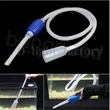 Aquarium Clean Fish Tank Vacuum Gravel Cleaner Water Syphon Siphon Pump Filter K
