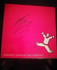 Herbert Grönemeyer Sprünge, Vinyl LP SIGNIERT