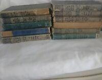 Lot Of 11 Vintage Nancy Drew Books 1930s 1940s 1950s