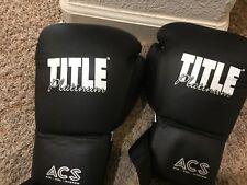 Title platinum boxing gloves Size L