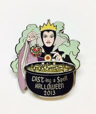 Disney Cast Exclusive Evil Queen Poison Apple Cast-ing a Spell Halloween Pin PP