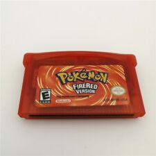 Refurbished Game Card For Nintendo GameBoy GBA Pokemon FIRERED Cartridge
