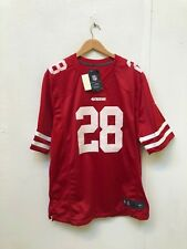 San Francisco 49ers Men's Nike NFL Game Jersey - L - Hyde 28 - New with Defects