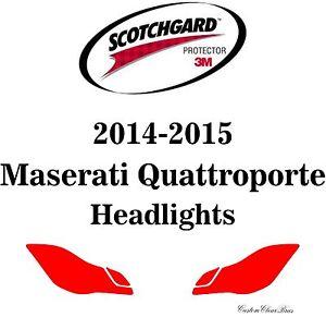 3M Scotchgard Paint Protection Film Clear Pre-Cut 2015 Maserati Quattroporte